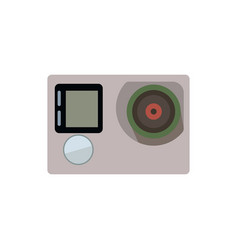 Camera action icon vector