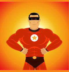 Comic-like super-hero vector