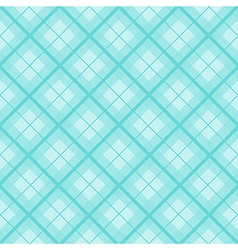 Mint tartan diamond background vector
