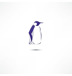 Penguin icon vector image vector image