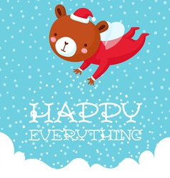Happy everything vector image