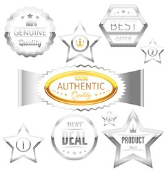 Best choice sign tags badges collection vector