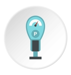 Pressure measurement icon flat style vector