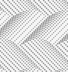 Perforated paper with horizontal chevron textured vector