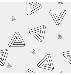 Pattern geometric seamless simple monochrome vector
