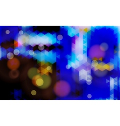 Abstract blurred blue background vector image vector image