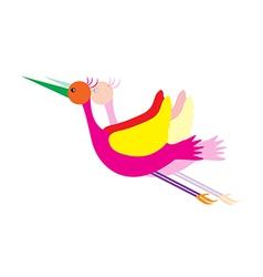 bird cartoon vector image vector image