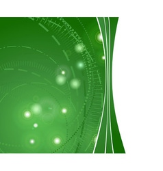 Glowing hitech background vector