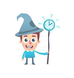 Time wizard vector