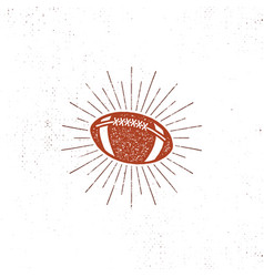 American football bal  icon vector
