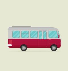 a bus eps10 vector image vector image