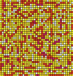 Abstract background of mosaic elements vector image vector image