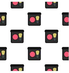 Blush pattern flat vector