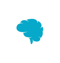 brain icon template vector image