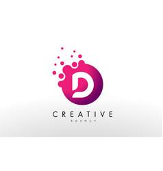 Letter d logo d letter design vector