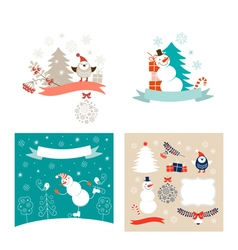 New year design elements set vector