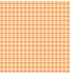 Orange ginkgo biloba leaves seamless pattern vector