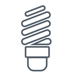 Spiral bulb light vector