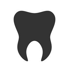 Tooth icon logo template of tooth dental symbol vector