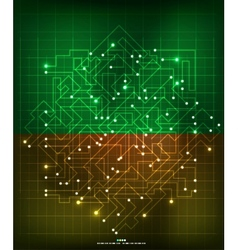 Modern abstract geometrical design vector