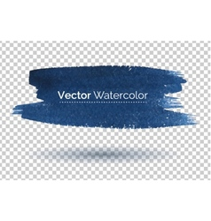 Hand drawn watercolor banner vector