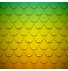 Pattern of semicircles in squama style vector image