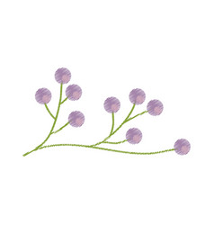 Branch flower wild image sketch vector