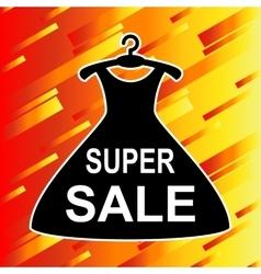 Super Sale advertisement vector image