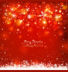 Christmas red background vector