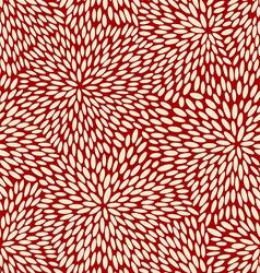 Japanese dancing leaves pattern vector image
