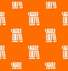 Dictionaries pattern seamless vector