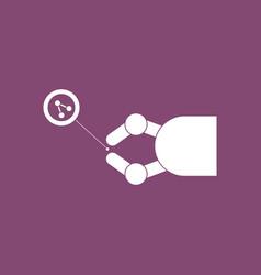 Icon molecules and robot vector