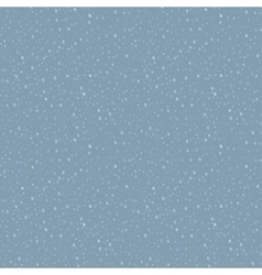 Rain drops pattern vector image vector image