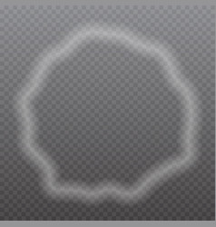 Smoke frame vector