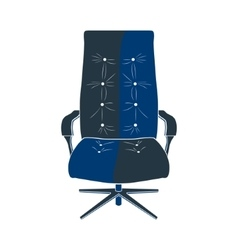 Chair seat armchair vector