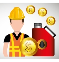Petroleum and oil industry prices graphic design vector