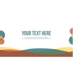 Header website elegant design collection vector