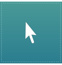 Mouse arrow cursor icon - vector