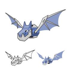 Robot Bat vector image vector image