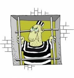 prison vector image