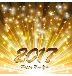 Glittering new year glow vector