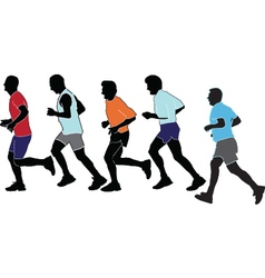 Marathon collection vector