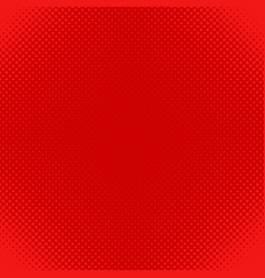 Red halftone dot pattern background - design from vector