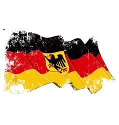 Germany State Flag Grunge vector image