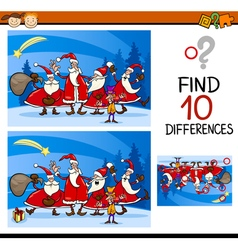 Find differences educational task vector