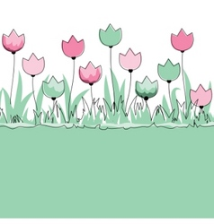 garden illustration vector image