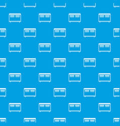 Home equipment for heating pattern seamless blue vector