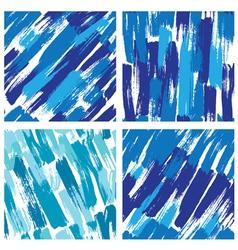 paint stripes blue 380 vector image