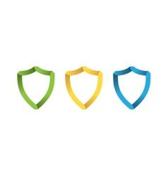 Paper shields vector