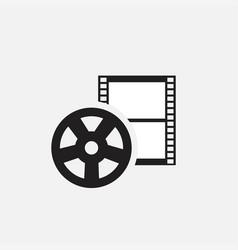 Video iconmovies icon vector